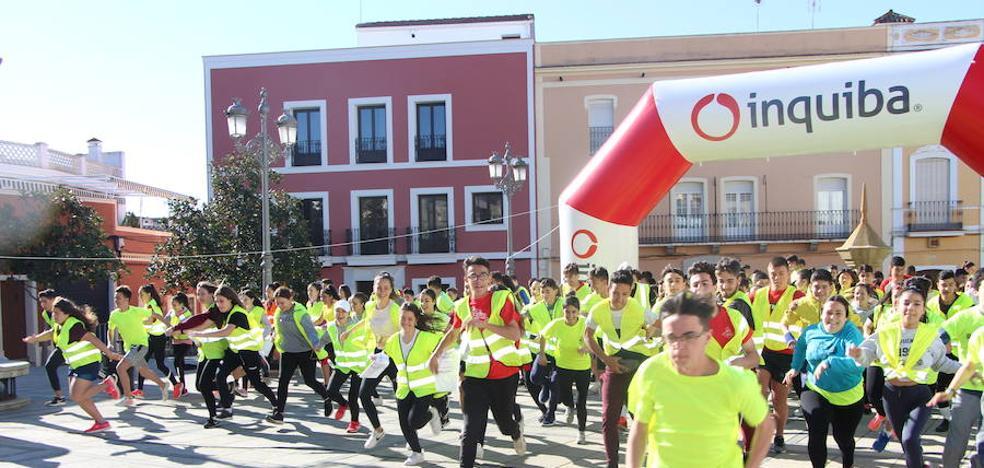 200 adolescentes participaron en el III Raid Aventura del IES Eugenio Frutos