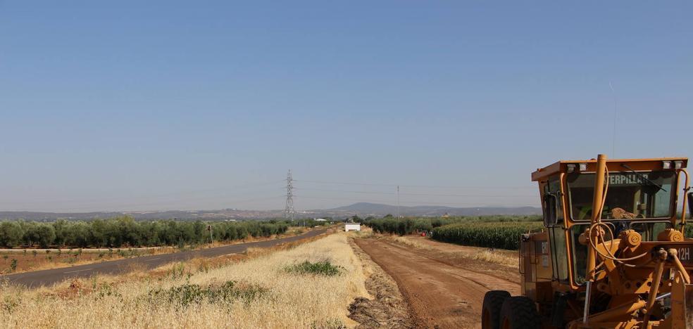 Se acomete la senda verde de la Colada de la Estación y el paseo al pantano San Roque