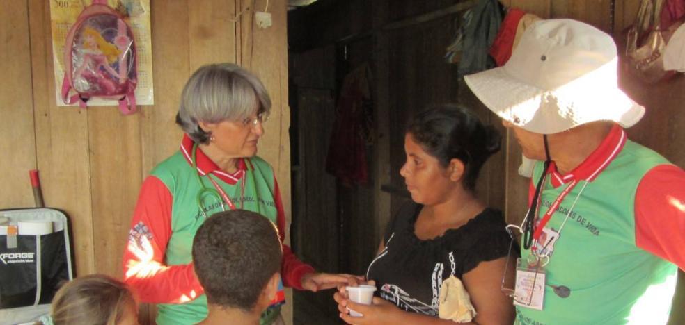 Antonia López prepara una campaña internacional sobre la cura de la enfermedad de Hansen