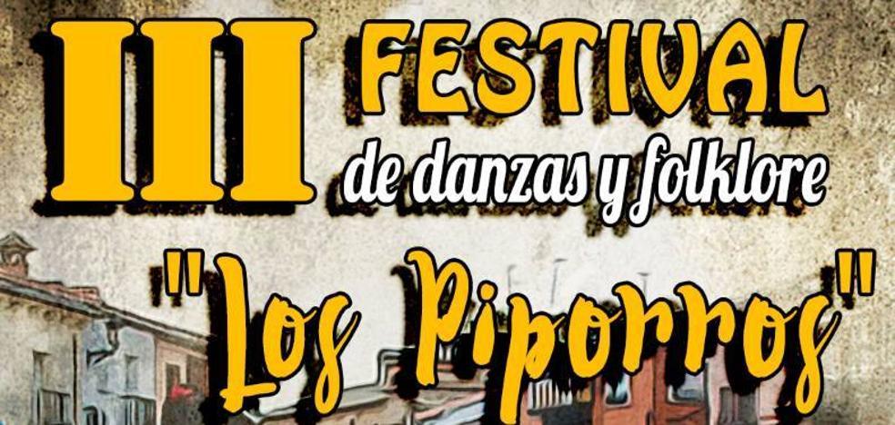 Hoy comienza el Festival 'Los piporros' de danzas y folclore