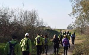 Ruta senderista y solidaria en favor de ADIGU