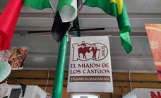 Se instalan banderolas con el logotipo '100 Años El Miajón de los castúos'