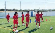 La Noria acoge los entrenamientos de la selección femenina de fútbol de Marruecos