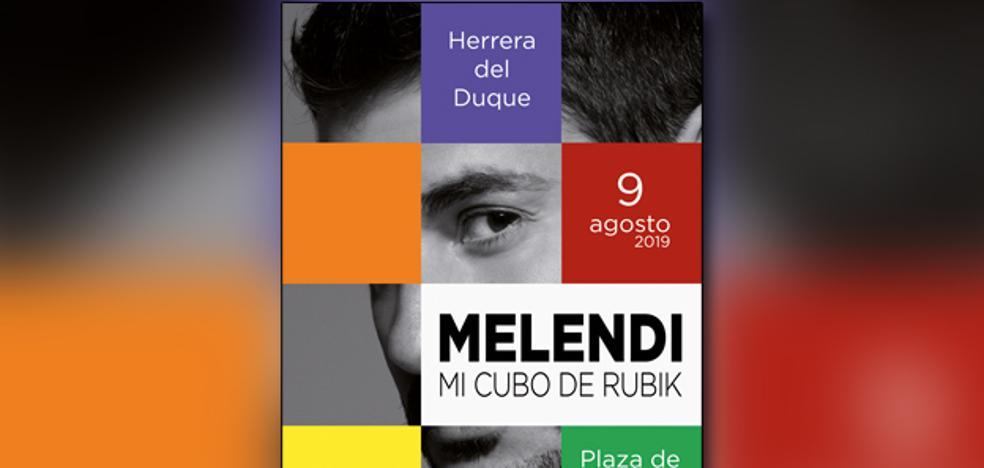 El cantante Melendi actuará en Herrera del Duque el 9 de agosto