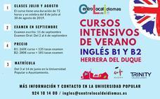 La Universidad Popular de Herrera acoge un curso intensivo de inglés