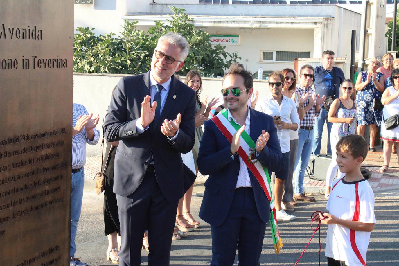 Se inaugura la Avenida Castiglione in Teverina