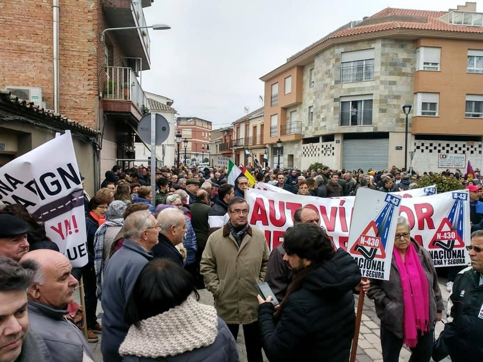 Venancio Rincón: «Cincuenta y cuatro muertos son demasiados para que no se solucione el problema con la N-430»