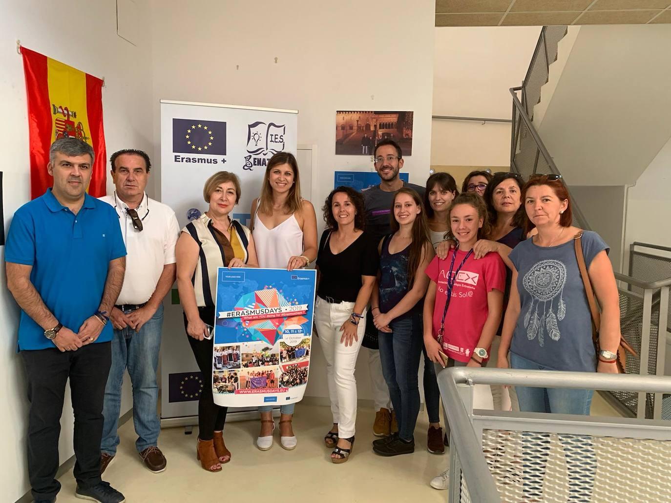 Herrera del Duque en el mundo, a través de los proyectos Erasmus