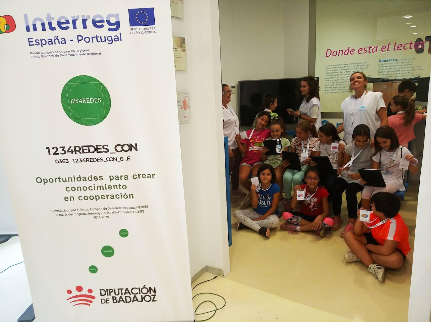 El Club de Lectura Infantil «Nubetecos» tiene una gran acogida en Herrera del Duque