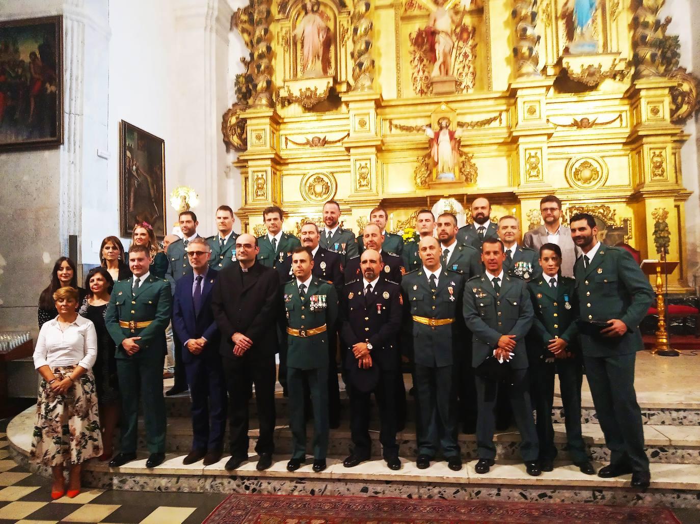 La Guardia Civil de Herrera del Duque celebra el Día de su patrona
