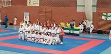 Campeonato de Extremadura de Promoción 2.019 Karate, celebrado en Herrera del Duque