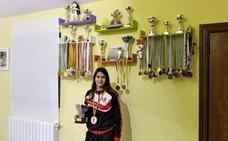 Paula del Toro campeona de España en Kumite