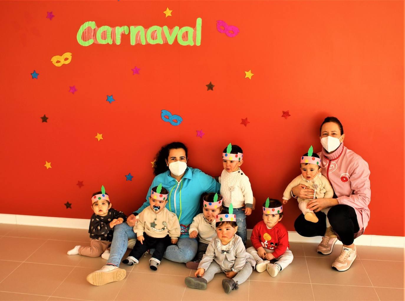 El carnaval en los centros escolares