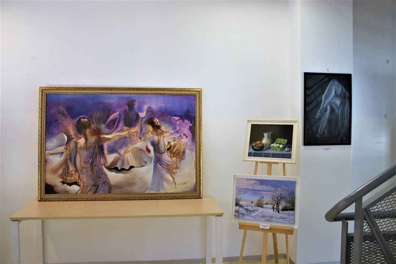 Exposición de pintura de mujeres