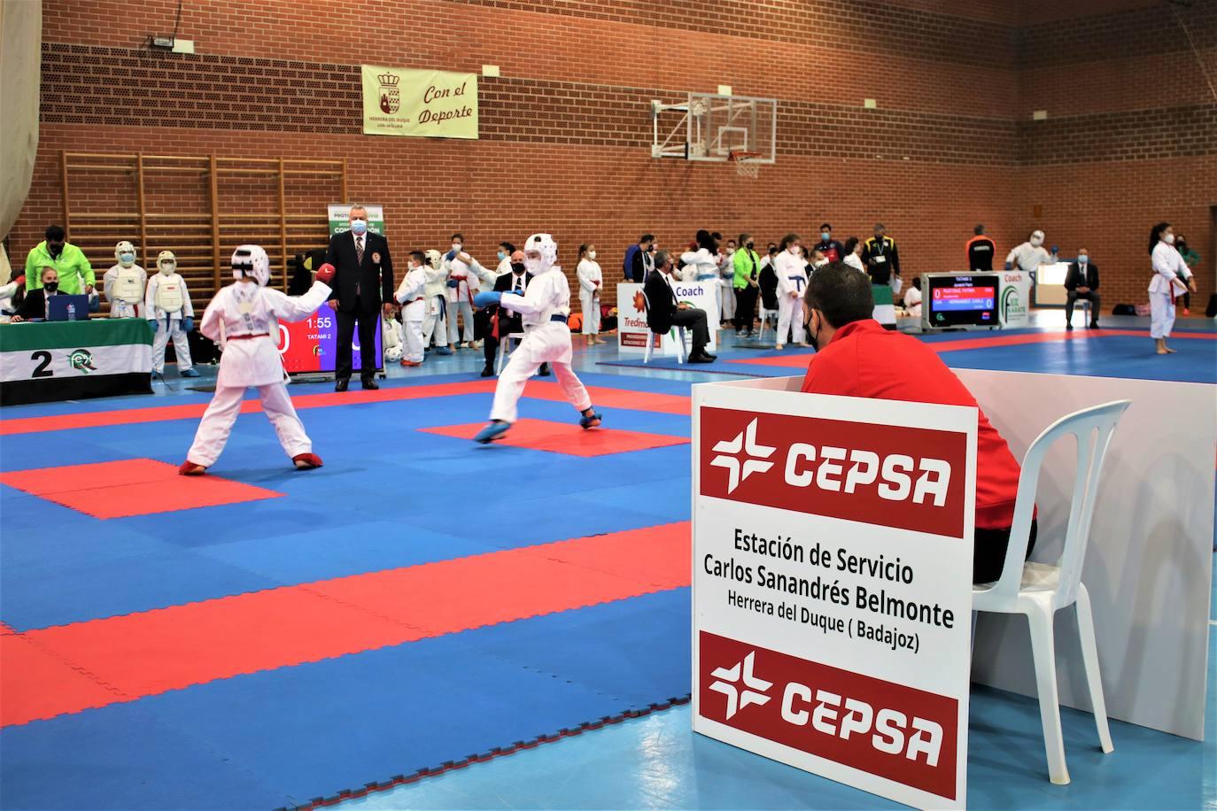 Campeonato de Extremadura de Karate en Herrera del Duque