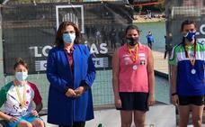 Elena Ayuso se proclama campeona de España en paracanoe KS