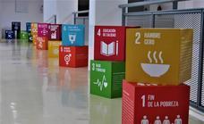 Hasta el día 13 de octubre permanecerá abierta la exposición en el Palacio de la Cultura «Encajando los ODS»