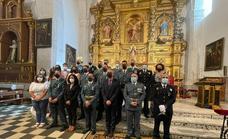 La Guardia Civil de Herrera del Duque celebra la misa en honor a su patrona