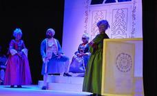 Extraordinaria puesta en escena de «El juego de los embustes» en Herrera del Duque
