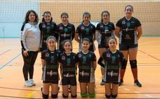 El Voleibol Jaraíz femenino infantil comienza el año líder