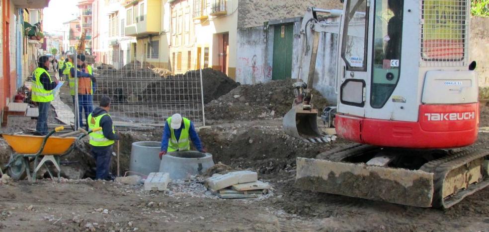 El Ayuntamiento da 60 días para acabar las obras de la avenida de Yuste