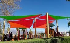 El parque-mirador Los Bolos estrena parasoles