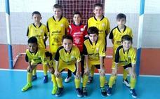 El Jaraíz Futsal alevín, campeón de liga a falta de tres jornadas