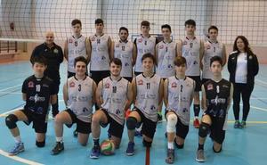 El Voleibol Jaraíz juvenil, campeón de la liga regular