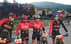 El equipo ciclista 'Jaraíz Capital Mundial del Pimentón' corre la MTB Bajo Tiétar