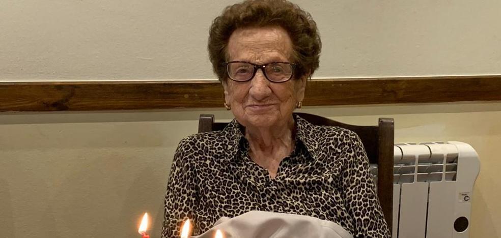 La vecina de Jaraíz Vicenta Hernández cumple 100 años