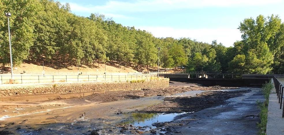 Comienzan los trabajos de limpieza en el complejo turístico del Lago