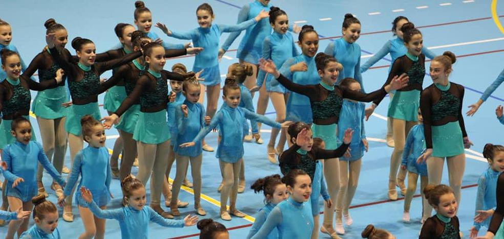 Festival fin de curso de gimnasia rítmica