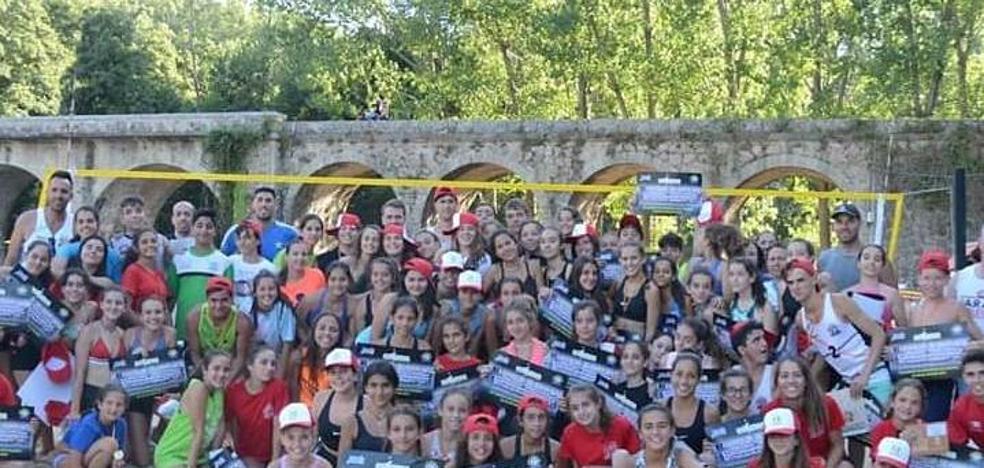 Finaliza el Campus Extremadura de Voleibol