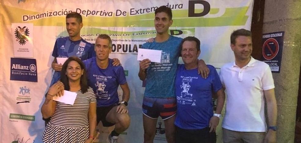 Alán Otero, campeón del circuito de carreras populares de la Vera