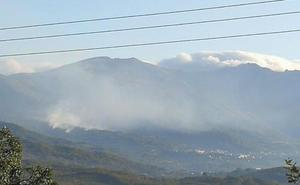 Este miércoles se ha declarado otro incendio en el término municipal de Garganta la Olla