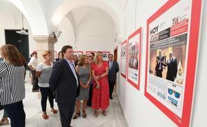 Una exposición de HOY repasa los 40 años de elecciones municipales