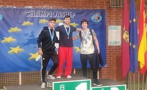 Jorge Martín, medalla de bronce en el europeo de Wushu-Kung Fu