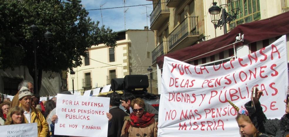 Los jubilados y pensionistas jaraiceños asistirán a la concentración nacional