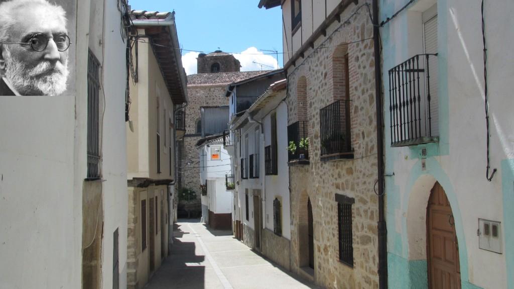 Hoy se cumple un siglo de la visita de Miguel de Unamuno a Jaraíz
