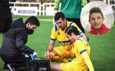 El joven jaraiceño Alejandro Collado salva la vida al futbolista Juanela