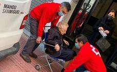 La jaraiceña Vicenta Hernández recibe a sus casi 102 años la segunda dosis