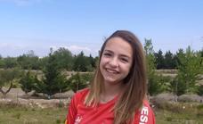Andrea Rodríguez disputará el Campeonato de Europa de Escalada Juvenil