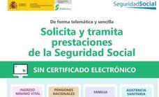 Nueva plataforma para realizar gestiones en la Seguridad Social