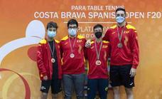 Marlon López, medalla de bronce en el Costa Brava Spanish Para Open 2021