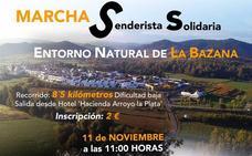 AFAD Jerez Sierra Suroeste organiza, este domingo, la marcha senderista solidaria 'Entorno Natural de La Bazana'