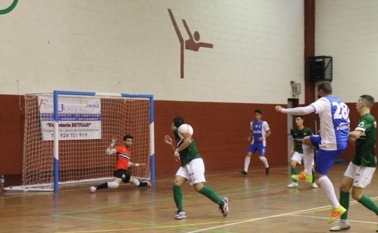 Valioso empate del Jerez Futsal ante un potente rival