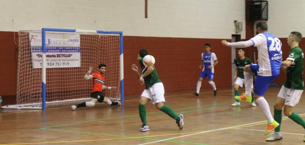Gran partido del Jerez Futsal que suma un punto ante un potente rival