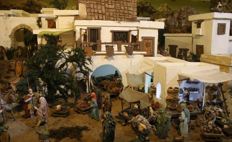 El Belén 'Santa Ángela' inicia la Navidad en Jerez