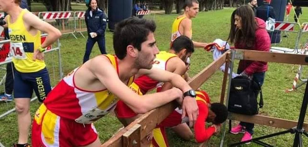 Manuel Gómez Lucas, campeón de Europa con la Selección Española en Campo a través, en distancia corta, en Italia