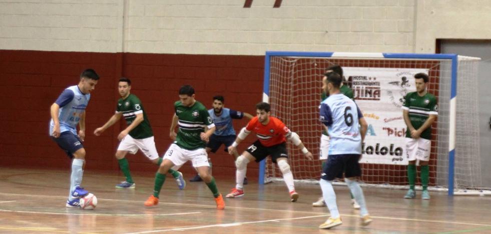 El Jerez Futsal trató de tu a tu al Ejido y le puso difícil la victoria 3-5